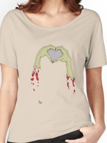 zombie hands Women's Relaxed Fit T-Shirt