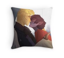 Let's Fly, Angel! Throw Pillow