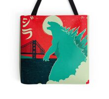 Godzilla: All Hail the King Tote Bag