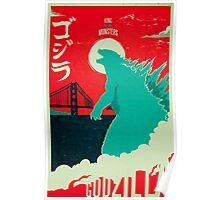 Godzilla: All Hail the King Poster