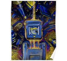 Pocket Power - BLUE VERSION Poster