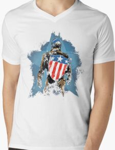 All American Mens V-Neck T-Shirt