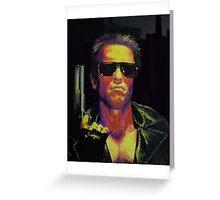 The Terminator Greeting Card