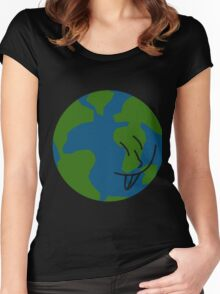 Silly Earth Women's Fitted Scoop T-Shirt