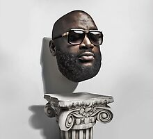Rick Ross Pillow by mrnorfside