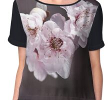Over a Blossom Cloud Chiffon Top