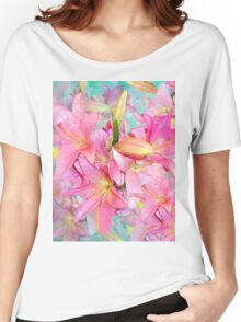 PINK LILY Women's Relaxed Fit T-Shirt
