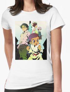 Killua, Gon, Wing and Zushi Womens Fitted T-Shirt
