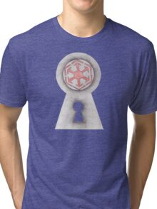 Unlock the Door to the Dark side Tri-blend T-Shirt
