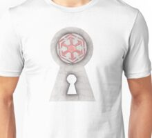 Unlock the Door to the Dark side Unisex T-Shirt