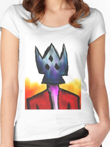 Burn Him, Burn Three Women's Fitted Scoop T-Shirt