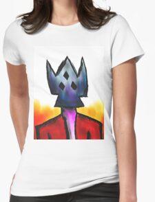 Burn Him, Burn Three Womens Fitted T-Shirt