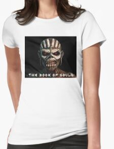 iron maiden the book of soul best Womens Fitted T-Shirt