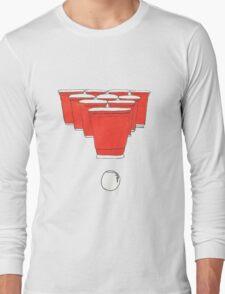 Beer Pong Long Sleeve T-Shirt