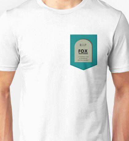 RIP FOX - Go cancel yourself. Unisex T-Shirt