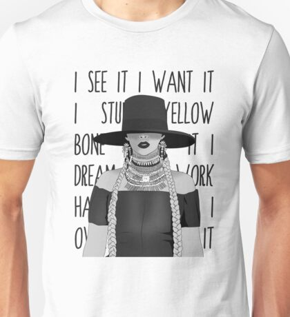 i see it i want it Unisex T-Shirt