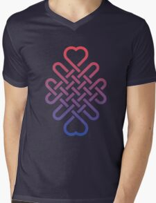 Love Maze Mens V-Neck T-Shirt