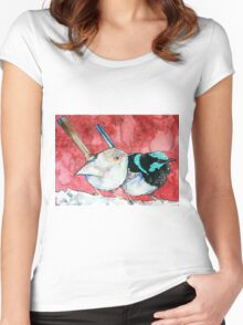 Pair of Wrens Women's Fitted Scoop T-Shirt