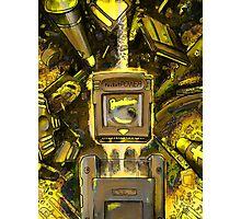 Pocket Power - GOLD VERSION Photographic Print