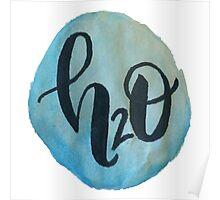H2O Watercolor  Poster