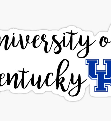 University of Kentucky/UK Sticker
