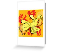 MLP:FiM Spitfire - Captain of the Wonderbolts Greeting Card