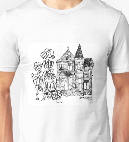 the house we haunt Unisex T-Shirt