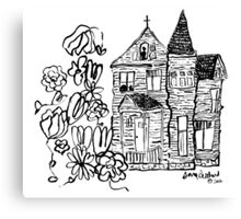 the house we haunt Canvas Print