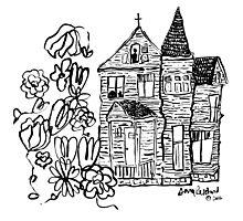 the house we haunt Photographic Print