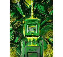 Pocket Power - GREEN VERSION Photographic Print
