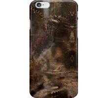 steampunk water world iPhone Case/Skin