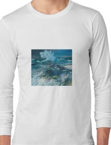 Stingray in the Wave Long Sleeve T-Shirt