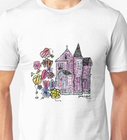 the house we haunt - colored Unisex T-Shirt