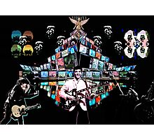 Music Montage Photographic Print