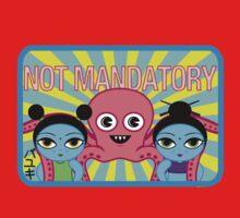 "Fruity Oaty Bar! ""NOT MANDATORY 2"" Shirt (Firefly/Serenity) Kids Tee"