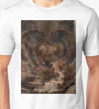 steampunk water world Unisex T-Shirt