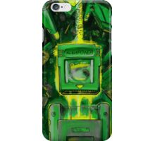 Pocket Power - GREEN VERSION iPhone Case/Skin