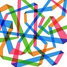 Rainbow Maze  by kookylane