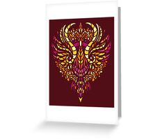 Rise of the phoenix Greeting Card