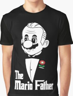 The Mario Father Graphic T-Shirt