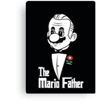 The Mario Father -fan art- Canvas Print