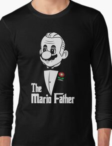 The Mario Father Long Sleeve T-Shirt