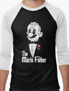 The Mario Father Men's Baseball ¾ T-Shirt