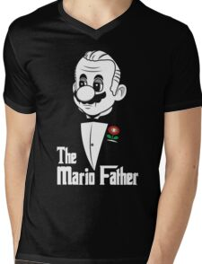 The Mario Father -fan art- Mens V-Neck T-Shirt