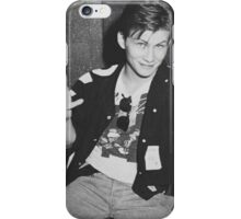 Young 80s Christian Slater  iPhone Case/Skin