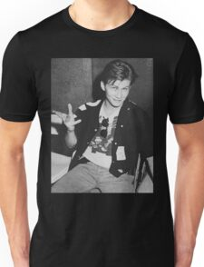 Young 80s Christian Slater  Unisex T-Shirt