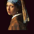 Girl with a Pearl Earring  by Greenbaby