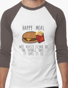 Lies of McDonalds Men's Baseball ¾ T-Shirt