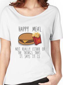Lies of McDonalds Women's Relaxed Fit T-Shirt