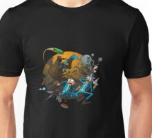 Ricy And Morty Pursued The Alien Unisex T-Shirt